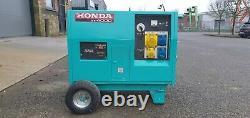 Honda Ex4000 Electric Start Portable Generator
