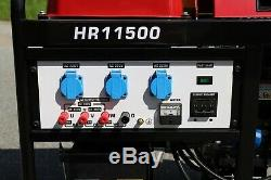 Honda GX630 gasoline generator (8 kW) 10.6 kVA 4-stroke NEW! Worldwide shipping