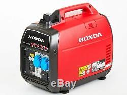 Honda Power Generator Inverter Silenced 2,2KW + Oil Candle Model EU22i Warranty