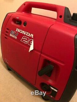 Honda eu20i silent suitcase generator. Rarely used
