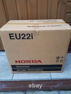 Honda eu22i generator Brand new