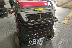 Honda eu65is inverter petrol generator, only 715 hours, serviced every 100 hours