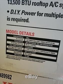 Honda inverter EU3000iS 3000 Watt 6.5 HP Generator
