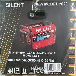 Hüttenberg 8500w Professional New Model 2020 Silent Petrol Generator New