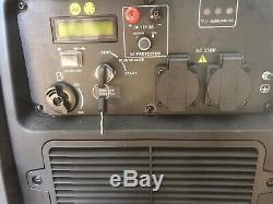 Hyundai 3200W Portable Inverter Generator HY3200SEi LPG Petrol Gene Gas