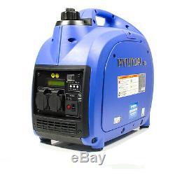 Hyundai HY2000Si 2000w Portable Petrol Inverter Generator 2kw Suitcase Generator