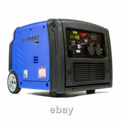 Hyundai HY3200SEI 3200W Portable Inverter Generator 210cc 4-stroke camping