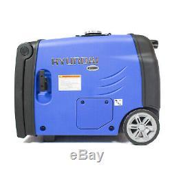 Hyundai HY3200SEi 3200W Portable Inverter Generator 3.2KW Leisure Generator