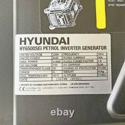 Hyundai HY6500SEi 230V Petrol 6600With6.6kW Remote Electric Start GRADED