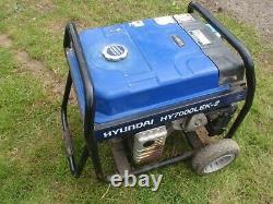 Hyundai HY7000LEK-2 Generator