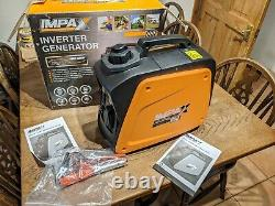 IMPAX IM800I 780W INVERTER GENERATOR, 230V only used twice