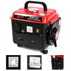 Inverter Petrol Generator Gasoline Quiet Suitcase with Electric Start Max. 600W