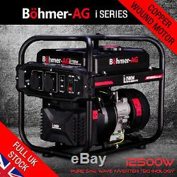 Inverter Petrol Generator i2500W 2.0KW Quiet Electric Portable Camping Power