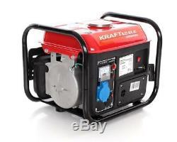 KD109B Kraft&Dele Portable Petrol Power Generator 2,0HP 12 V / 230 V