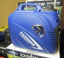 Lightweight Suitcase Petrol Inverter Generator for Camping, Caravan & Motorhome