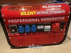 Mil German Silent Generator ML8500W