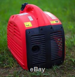 Mobile 2000w Petrol Silent Suitcase Inverter 240v Portable Camping Generator
