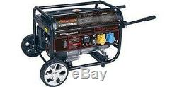 NEW 7Hp 4 Stroke petrol. Generator with fly lead NEW with free delivery