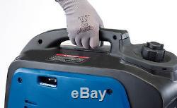 NEW DRAPER 2Kva 1600w Small Petrol Suitcase Inverter Generator 60db Quiet 80956