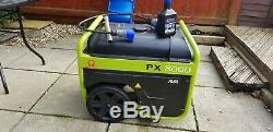 New petrol generator 5.4kW Pramac Praxio PX8000 Electric start