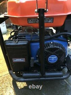 P1PE 7.9kW Recoil And Electric Start Site Dual Fuel Petrol/LPG Generator