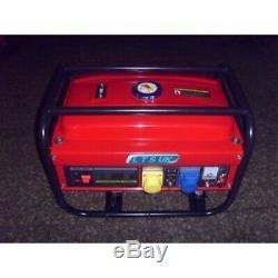 PETROL GENERATOR 2.8KW new 240/110 volt 2 yr warranty SITE GENERATOR new