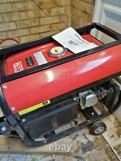 PETROL PULL START Kraftech KT650W generator 6.5 Up Air Cooled
