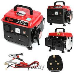 PETROL Portable Silent Generator Inverter 230v Hand Recoil/Switch 2.0HP 2 Stroke