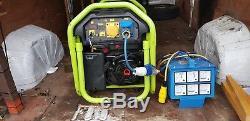 PRAMAC PX 8000 6Kva 240/115V ELECTRIC START PETROL GENERATORWITH AVR