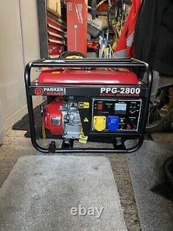 Parker Brand Portable Petrol Generator