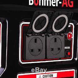 Petrol Electric Generator AG-9000W 16HP 10.5Kva Portable Camping Power Bohmer