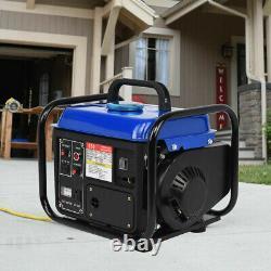 Petrol Generator 1200W 2 Stroke 230v 1.6HP Recoil Start Portable Camping AVR