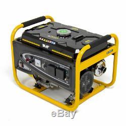 Petrol Generator 2500w 3.12KVA 5.5HP 230v Quiet Portable 4 Stroke Caravan
