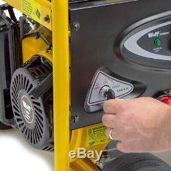 Petrol Generator 6500 watts with Wheels 8.75kva 15HP 110v 230v Portable 4 Stroke