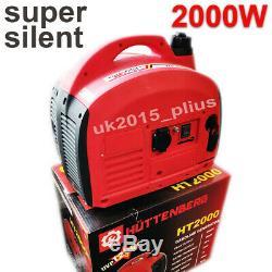 Petrol Generator Portable Inverter Camping Generator 2000W