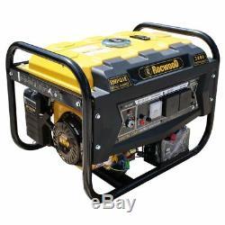 Petrol Generator Rocwood 2800w 4 Stroke 8HP Electric Start Plus FREE Oil
