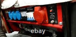 Petrol Generator, single + 3 phase, 4.5kW, 6.5HP only run twice