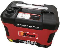 Petrol Inverter Generator 2000W Portable Camping Silent 4 stroke Power 2000 watt