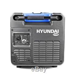 Petrol Inverter Generator 4.0kW 5kVA Portable Camping Silenced 230V HYUNDAI
