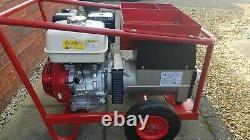 Petrol welder generator