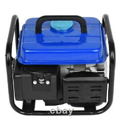 Portable Gas Generator 1200W Emergency Home Back Up Power Camping Tailgating UK