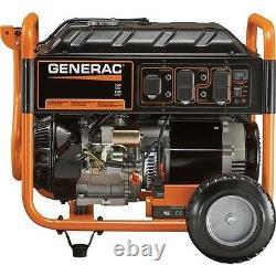 Portable Generator Gas 9,375 Watts Electric Start 420cc 7.5 Gallons