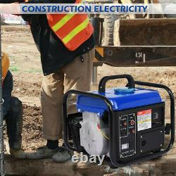 Portable Petrol Generator 1200W Electric 63CC Quiet Camping Power