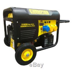 Portable Petrol Generator Champion Electric Start CPG6500 6.0kVA 4 Stroke
