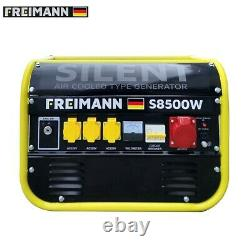 Portable Petrol Generator Freimann 6000W /6KVA Electric Camping Power