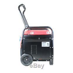 Portable Petrol Generator Inverter Suitcase 7500w 14HP 230v 115v Hyundai Powered