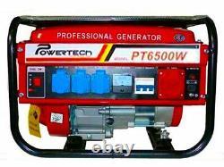 Portable Petrol generator 6500W