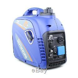 Portable Silent Inverter Camping Caravan Portable 2200w Generator Hyundai Engine