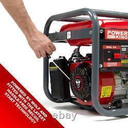 PowerKing Petrol Generator PKB4000LR 2800w 3.5KVA Wolf 7HP 4 Stroke