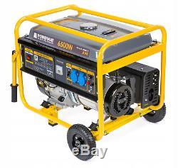 Powermat Power Generator Aggregate 6.5 kW 12V 230V AVR